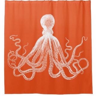 Orange Kraken Octopus