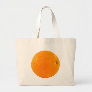 Orange Large Tote Bag