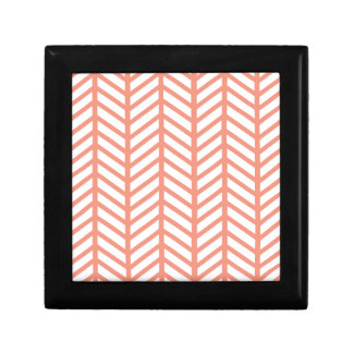 Orange Lattice Weave Gift Box