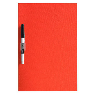 Orange Leather texture pattern background template Dry Erase Boards