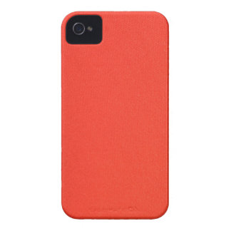 Orange Leather texture pattern background template iPhone 4 Case