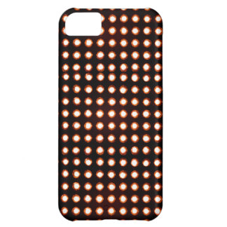 Orange Led light Cover For iPhone 5C