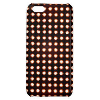 Orange Led light iPhone 5C Cover