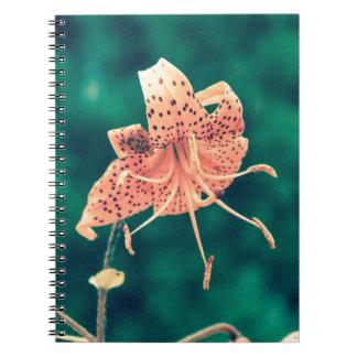orange lilly crossprocess4 notebook