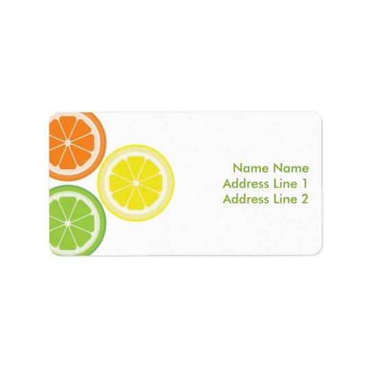 Orange Lime Lemon