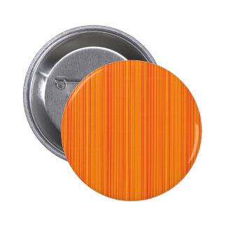 Orange lines 2 inch round button