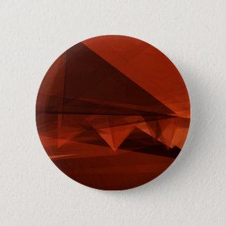 Orange Low Poly Background Design Artistic Pattern 2 Inch Round Button