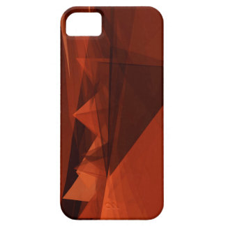 Orange Low Poly Background Design Artistic Pattern iPhone 5 Covers