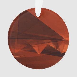 Orange Low Poly Background Design Artistic Pattern Ornament