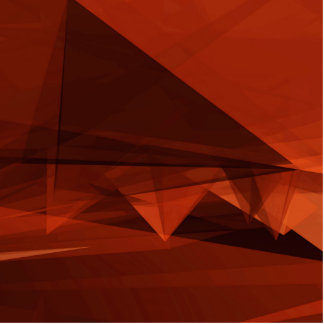 Orange Low Poly Background Design Artistic Pattern Photo Sculpture Button