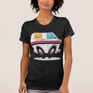 Orange Mail Truck T-Shirt