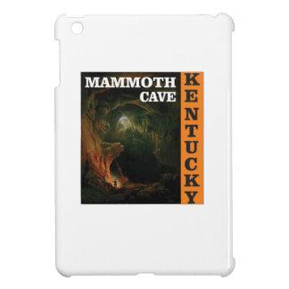 Orange mammoth cave art case for the iPad mini