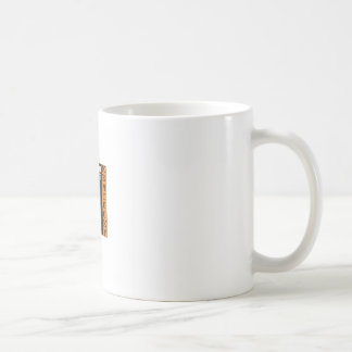 Orange mammoth cave art coffee mug