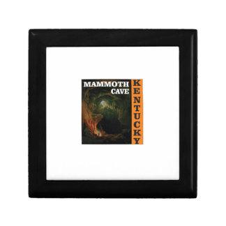 Orange mammoth cave art gift box