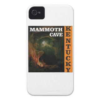 Orange mammoth cave art iPhone 4 Case-Mate case
