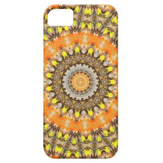 Orange Mandala iPhone 5 Case