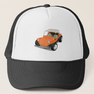 Orange Manx Only Trucker Hat