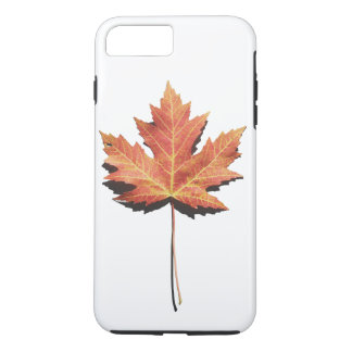 Orange Maple Leaf iPhone 8 Plus/7 Plus Case