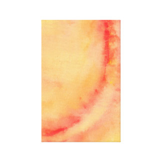 Orange Marble Canvas Print