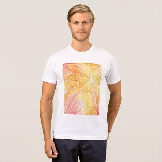 Orange Marble  Shirt
