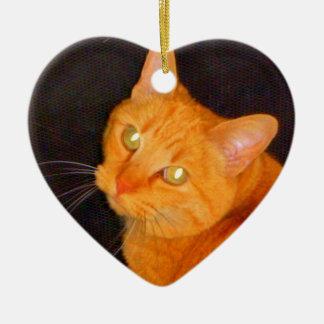 Orange marmalade ceramic ornament