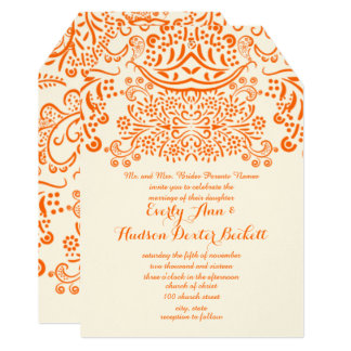 Mehndi Wedding Invitations & Announcements | Zazzle Canada