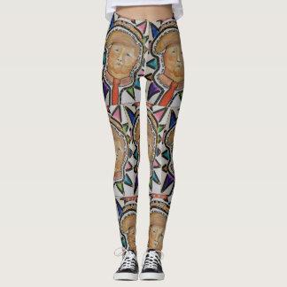 Orange Messiah Ladies Fashion Leggings
