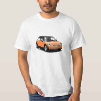 Orange Modern Mini Car T-Shirt