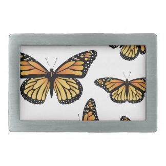 Orange Monarch Butterfly Belt Buckles