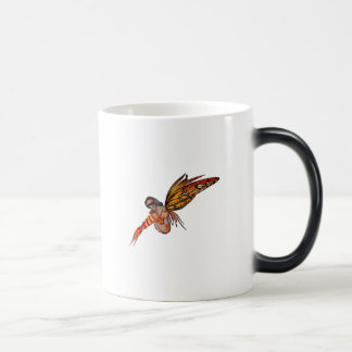 Orange Monarch Pixie Butterfly Fairy 6 - Magic Mug