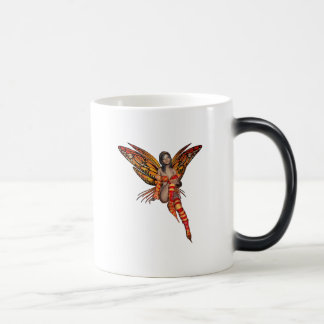Orange Monarch Pixie Butterfly Fairy 7 - Magic Mug