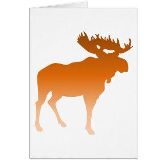 Orange Moose Card
