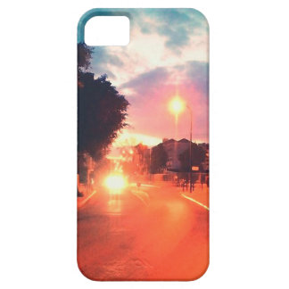 Orange morning iPhone 5 case