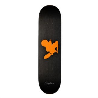 Orange Motocross Skate Boards