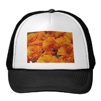 Orange Mums Trucker Hat