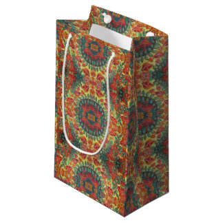 orange mushroom gift bag