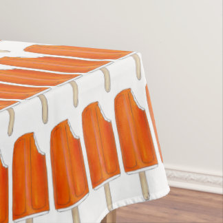 Orange n' Cream Creamsicle Popsicle Ice Cream Food Tablecloth