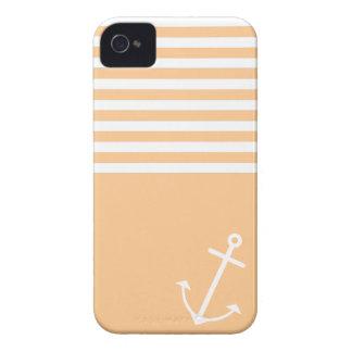 Orange Nautical iPhone 4 Cases