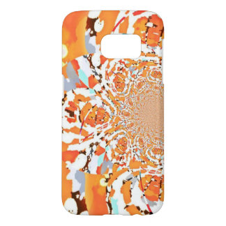 Orange Nebula Samsung Galaxy 7 Samsung Galaxy S7 Case