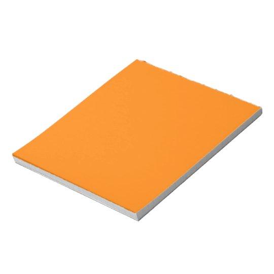 Orange Notepad
