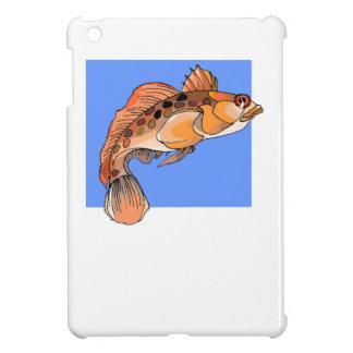 Orange Ocean Fish iPad Mini Case