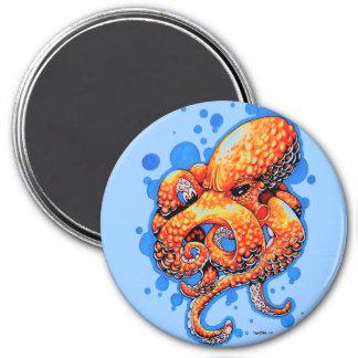 orange octopus magnets