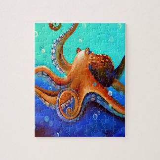 Orange Octopus Puzzle