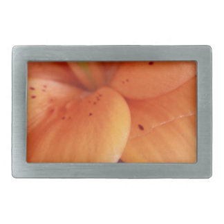 Orange Orchid Belt Buckles