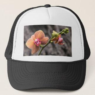 Orange Orchid Trucker Hat