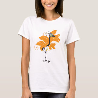 Orange Ostrich T-shirt