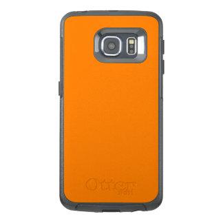 Orange OtterBox Defender Samsung Galaxy S6 Edge
