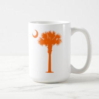 Orange Palmetto Coffee Mugs