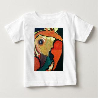 Orange Parrot Baby T-Shirt