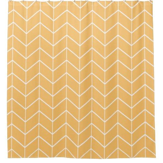 Orange Pastel Chevron Modern Two Tone Pattern